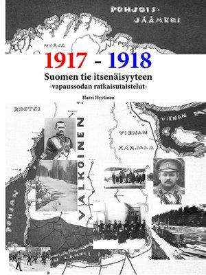 cover image of Suomen tie itsenäisyyteen