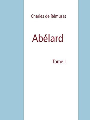 cover image of Abélard