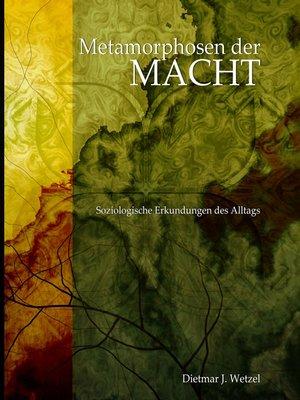 cover image of Metamorphosen der Macht