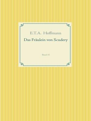 cover image of Das Fräulein von Scudery