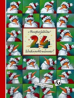 cover image of 24 Weihnachtsmänner