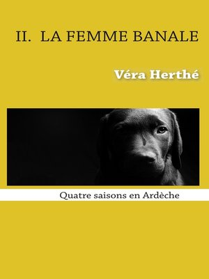 cover image of La femme banale