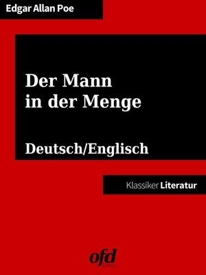 cover image of Der Mann in der Menge--The Man of the Crowd
