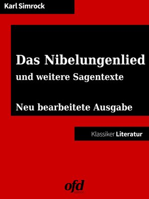 cover image of Das Nibelungenlied