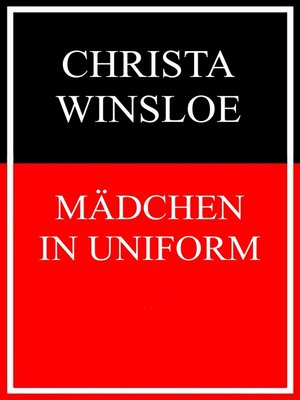 cover image of Mädchen in Uniform