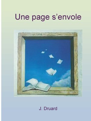 cover image of une page s'envole