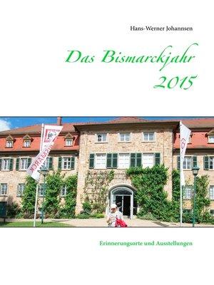 cover image of Das Bismarckjahr 2015