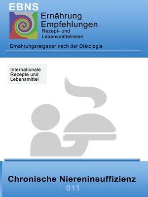 cover image of Ernährung bei chronischer Niereninsuffizienz