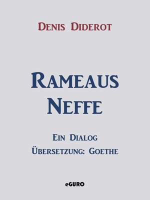 cover image of Rameaus Neffe