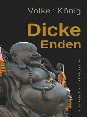 cover image of Dicke Enden