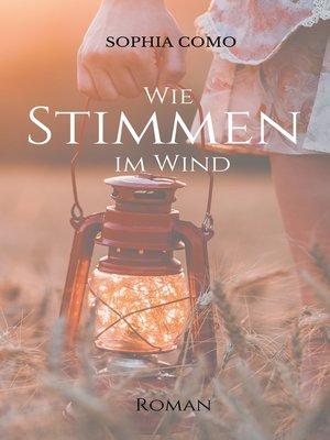 cover image of Wie Stimmen im Wind