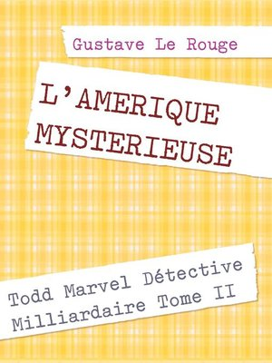 cover image of L'AMERIQUE MYSTERIEUSE