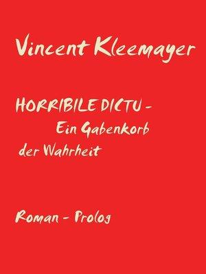 cover image of Horribile Dictu