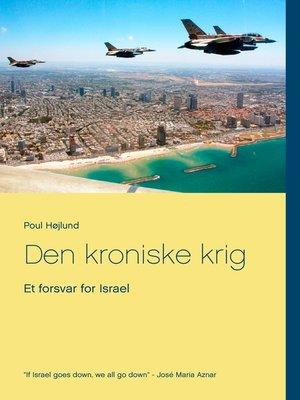 cover image of Den kroniske krig