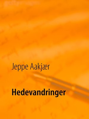 cover image of Hedevandringer