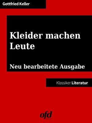 cover image of Kleider machen Leute