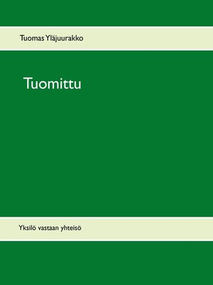 cover image of Tuomittu