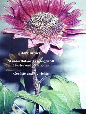 cover image of Standortbilanz Lesebogen 50 Cluster und Relationen