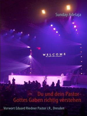 cover image of Du und dein Pastor