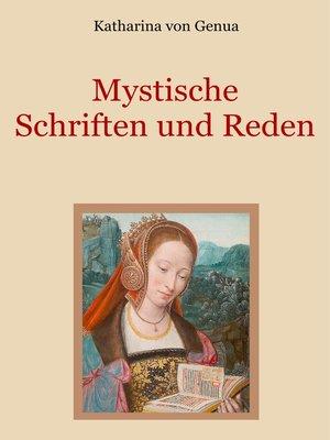 cover image of Mystische Schriften und Reden