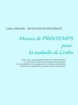 cover image of Menus de printemps pour la maladie de Crohn