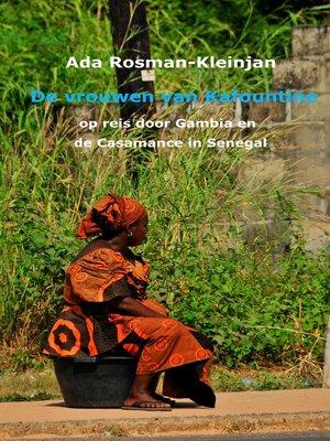cover image of De vrouwen van Kafountine
