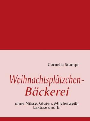cover image of Weihnachtsplätzchen-Bäckerei
