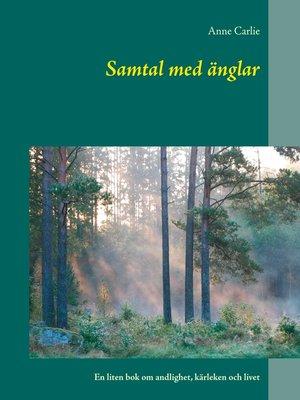 cover image of Samtal med änglar