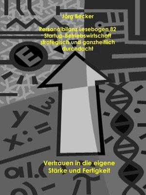 cover image of Personalbilanz Lesebogen 82 Startup-Betriebswirtschaft strategisch und ganzheitlich durchdacht
