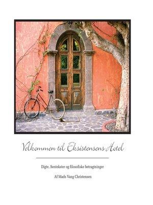 cover image of Velkommen til Eksistensens Hotel