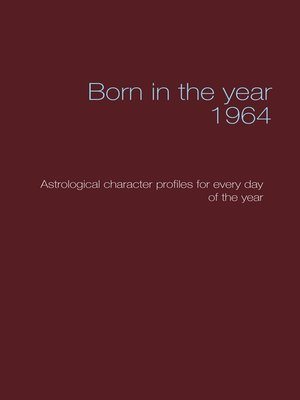 cover image of Born in the year 1964