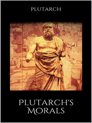 cover image of Plutarch's Morals