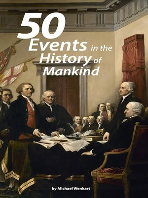 cover image of The 50 greatest events in the history of humankind