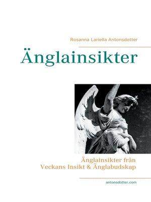 cover image of Vägledning från änglarna med budskap till dig för inspiration till insikt