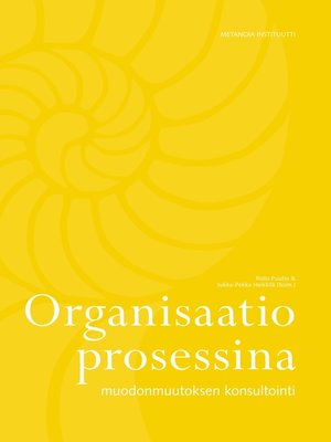 cover image of Organisaatio prosessina
