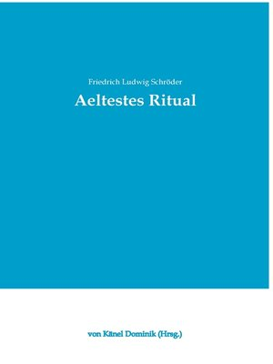 cover image of Aeltestes Ritual