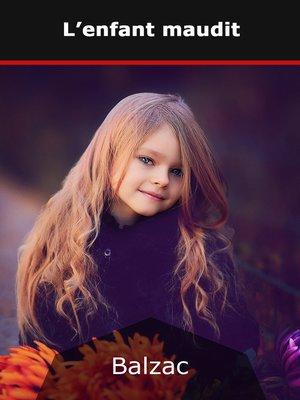 cover image of L'enfant maudit