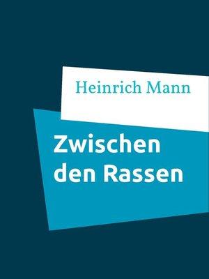 cover image of Zwischen den Rassen