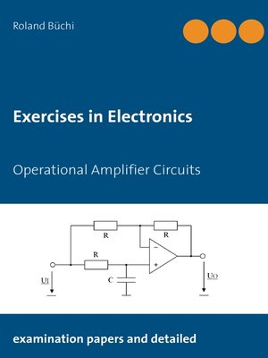 cover image of Exercises in Electronics