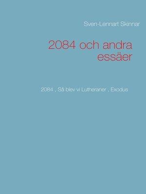 cover image of 2084 och andra essäer