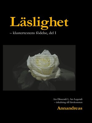 cover image of Läslighet
