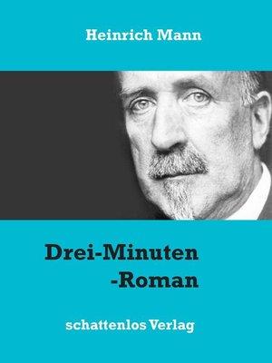 cover image of Drei-Minuten-Roman