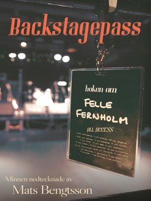 cover image of Backstagespass