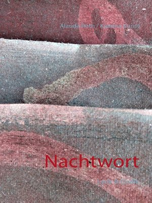 cover image of Nachtwort