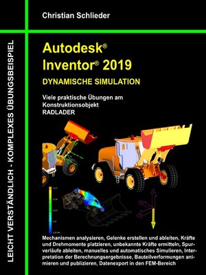 cover image of Autodesk Inventor 2019--Dynamische Simulation