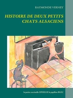cover image of Histoire de deux petits chats alsaciens