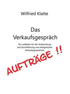 cover image of Das Verkaufsgespräch