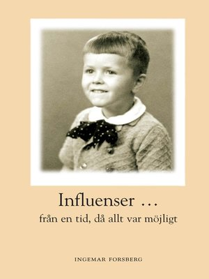 cover image of Influenser