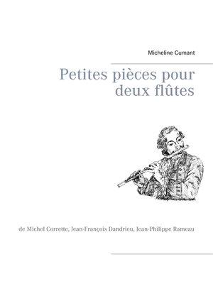 cover image of Petites pièces pour deux flûtes