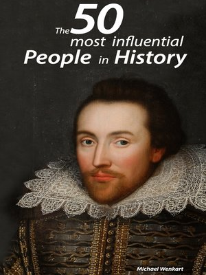 cover image of The 50 most influential people in history